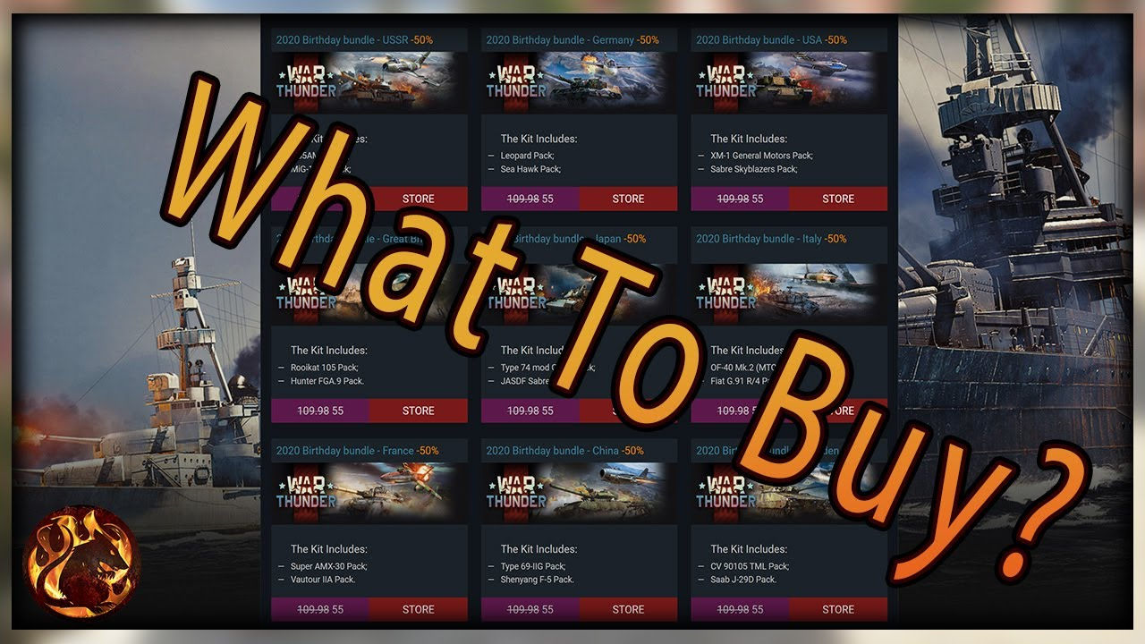 Napalm's Buying Guide [War Thunder]