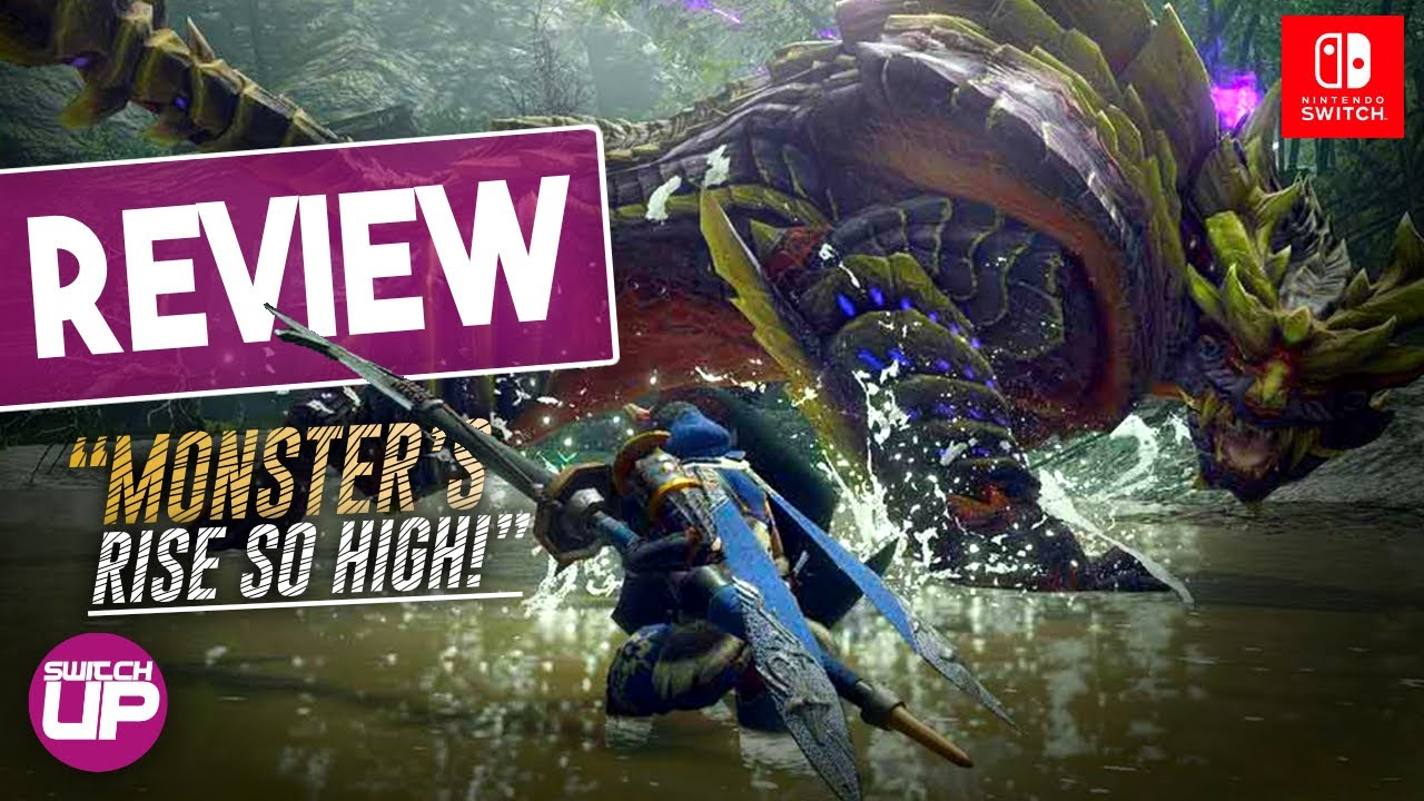 Monster Hunter Rise Nintendo Switch Review!