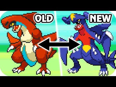 Pokémon Diamond & Pearl Beta : All Unreleased Sprite Comparison (Full)