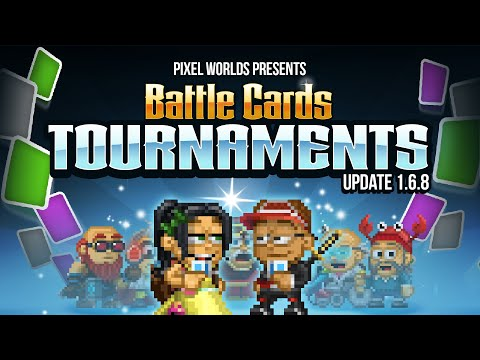 Tournaments are coming to Pixel Worlds! - UPDATE 1.6.8