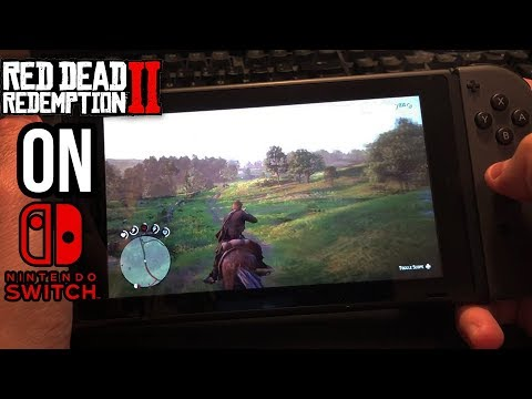 Play RDR2 on Nintendo Switch! In-Home-Switching AWESOME Homebrew Streaming App Red Dead Redemption 2