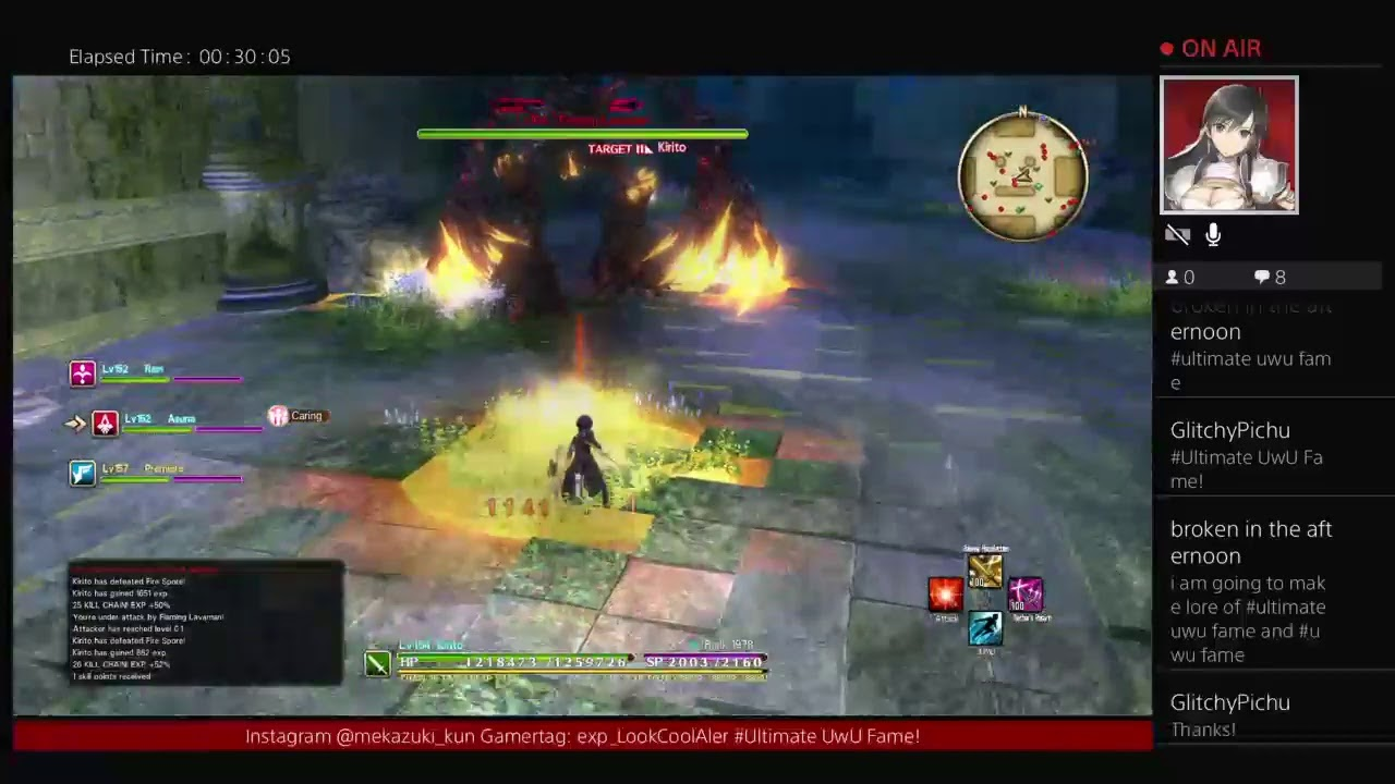 Playing Sword Art Online HR   Gamertag: exp_LookCoolAler   Sword Art Online Hollow Realization P