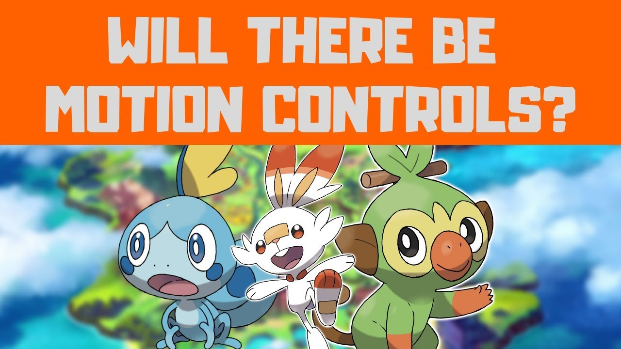 Will There be Motion Controls in Pokemon Sword and Shield?
