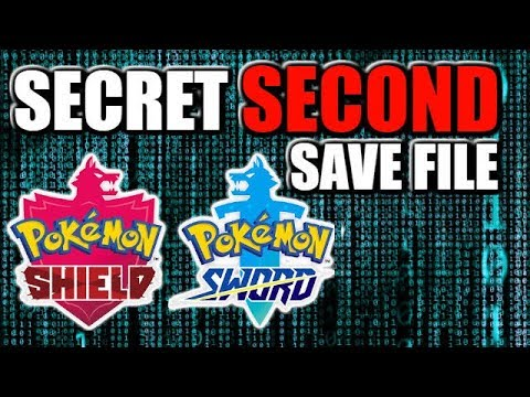 How to access secret SECOND Save file in Pokemon Sword and Shield