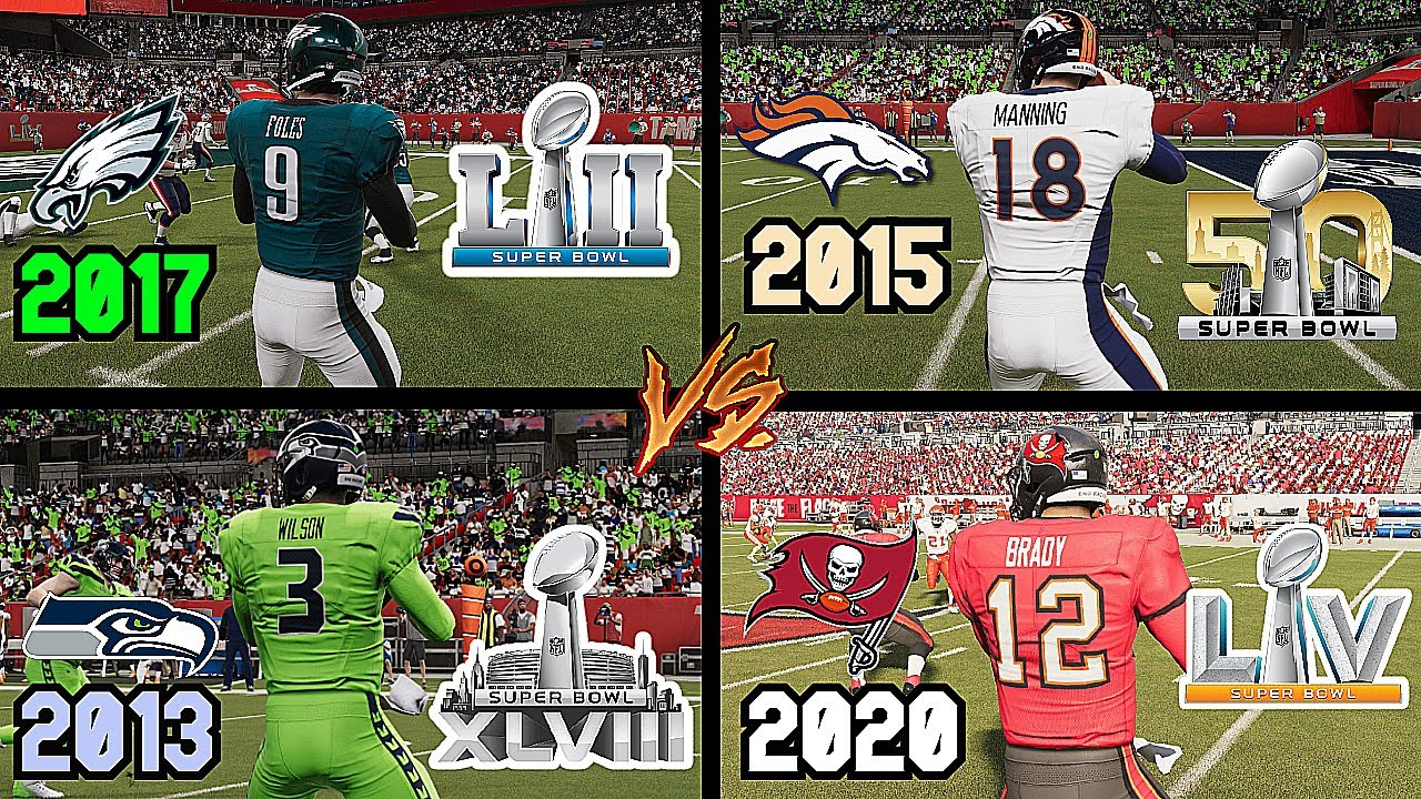 I Put The Last 8 Super Bowl Winners In A Tournament To See Which Team Is The Best