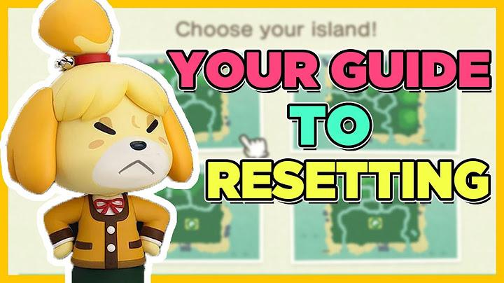 How To Restart Animal Crossing New Horizons