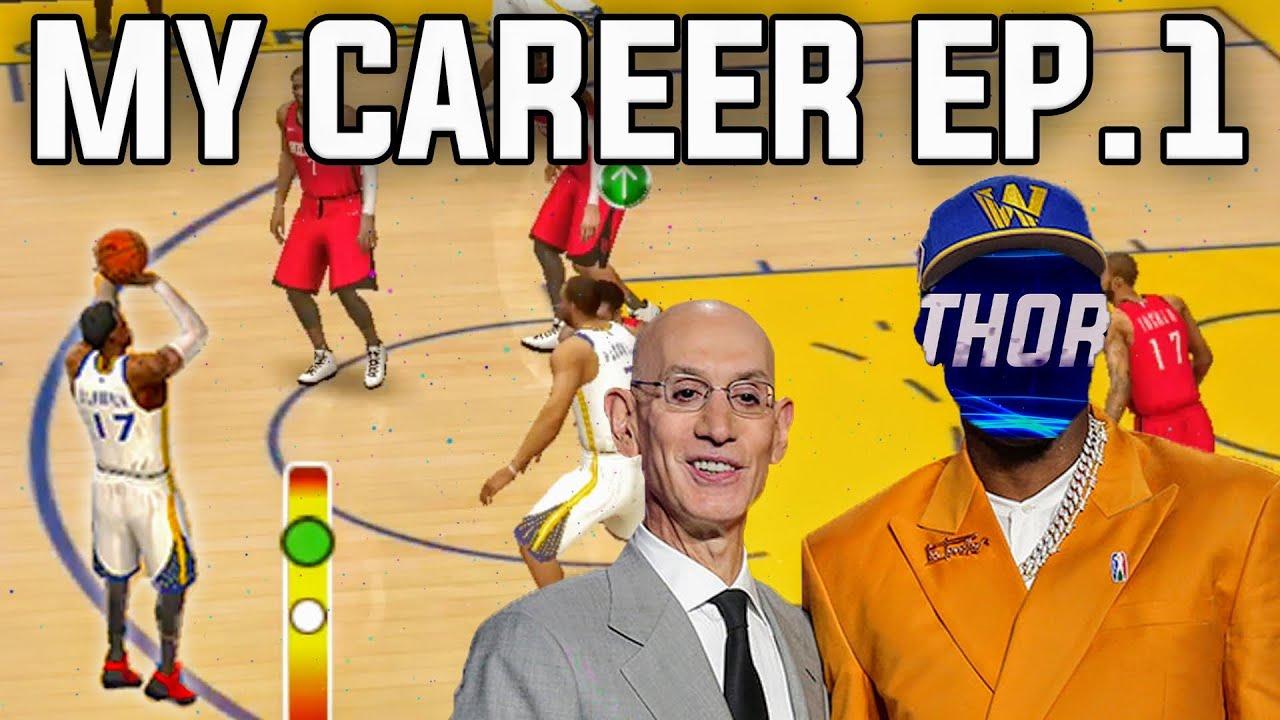 NBA Live Mobile Season 5 My Career Episode 1 - Making My Debut!