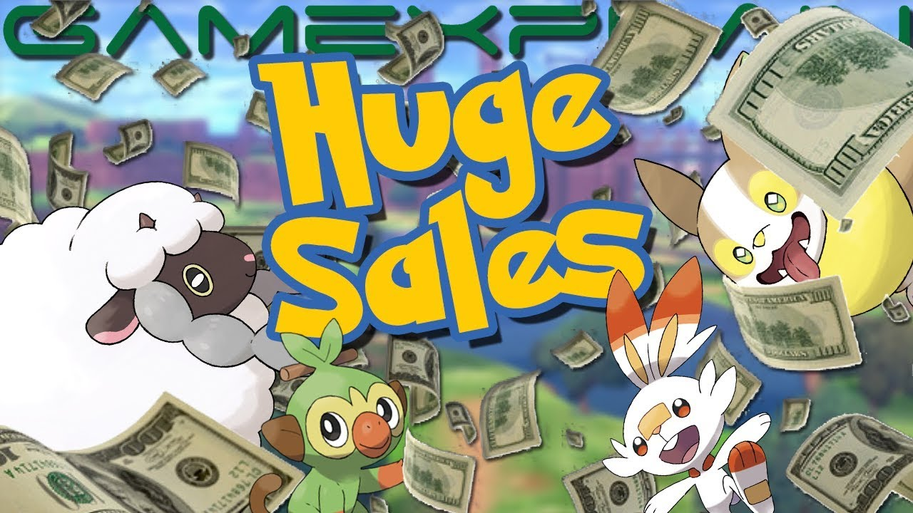 Pokémon Sword & Shield Sales Are WILD! Best Switch Launch Yet – Beating Smash Bros. (Japan & UK)