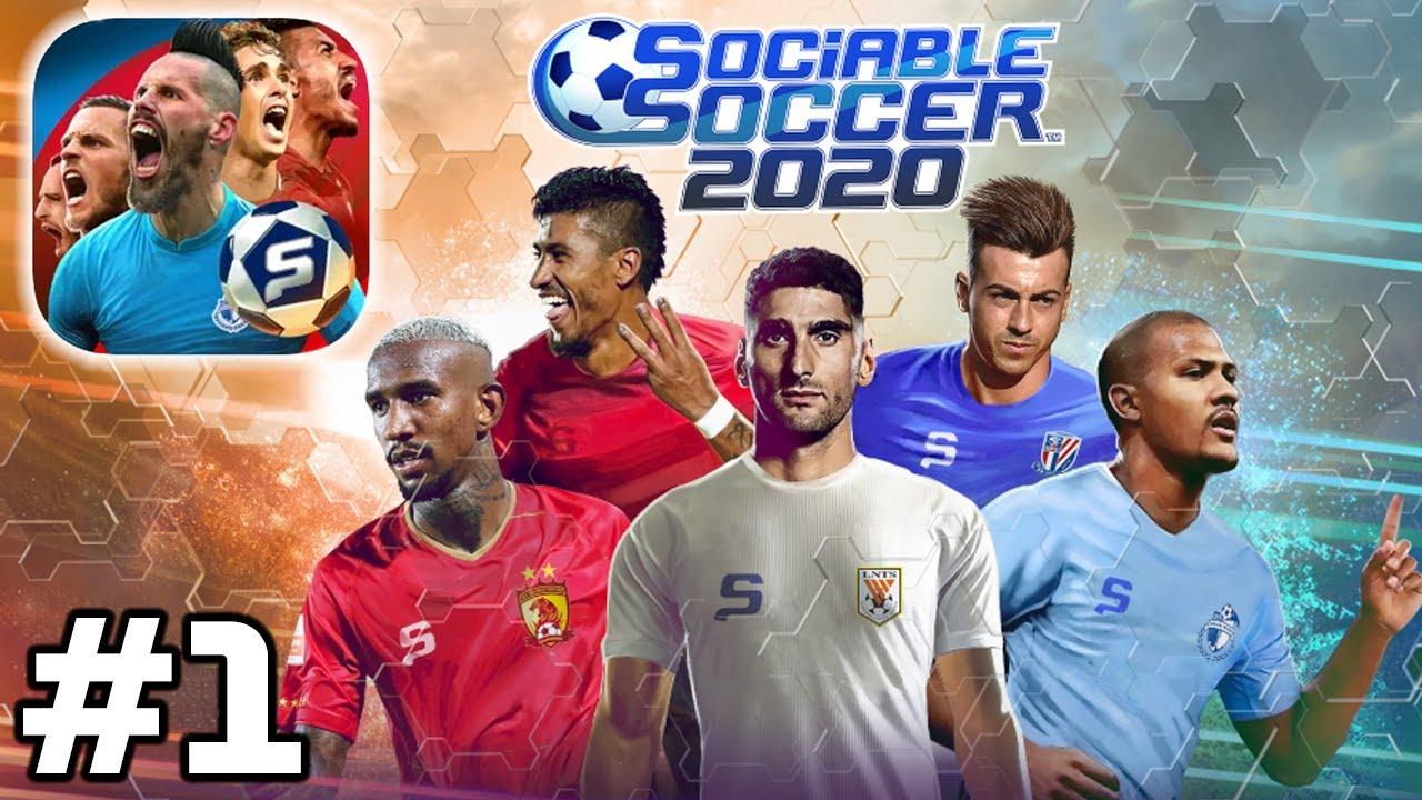 Apple Arcade - Sociable Soccer 2020 - Online PvP Gameplay Walkthrough (iOS)