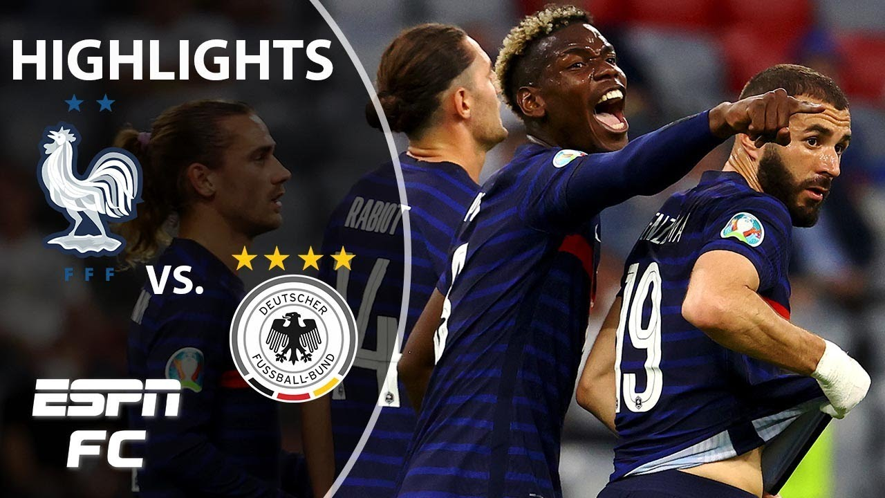 France starts Euro 2020 with a win vs. Germany via a Mats Hummels own goal   Highlights   ESPN FC