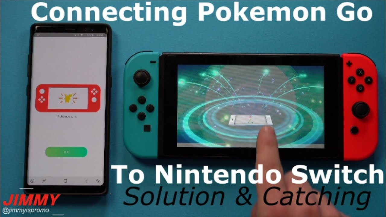 Connect Pokemon Go To Nintendo Switch SOLUTION! (Plus Catching Meltan)