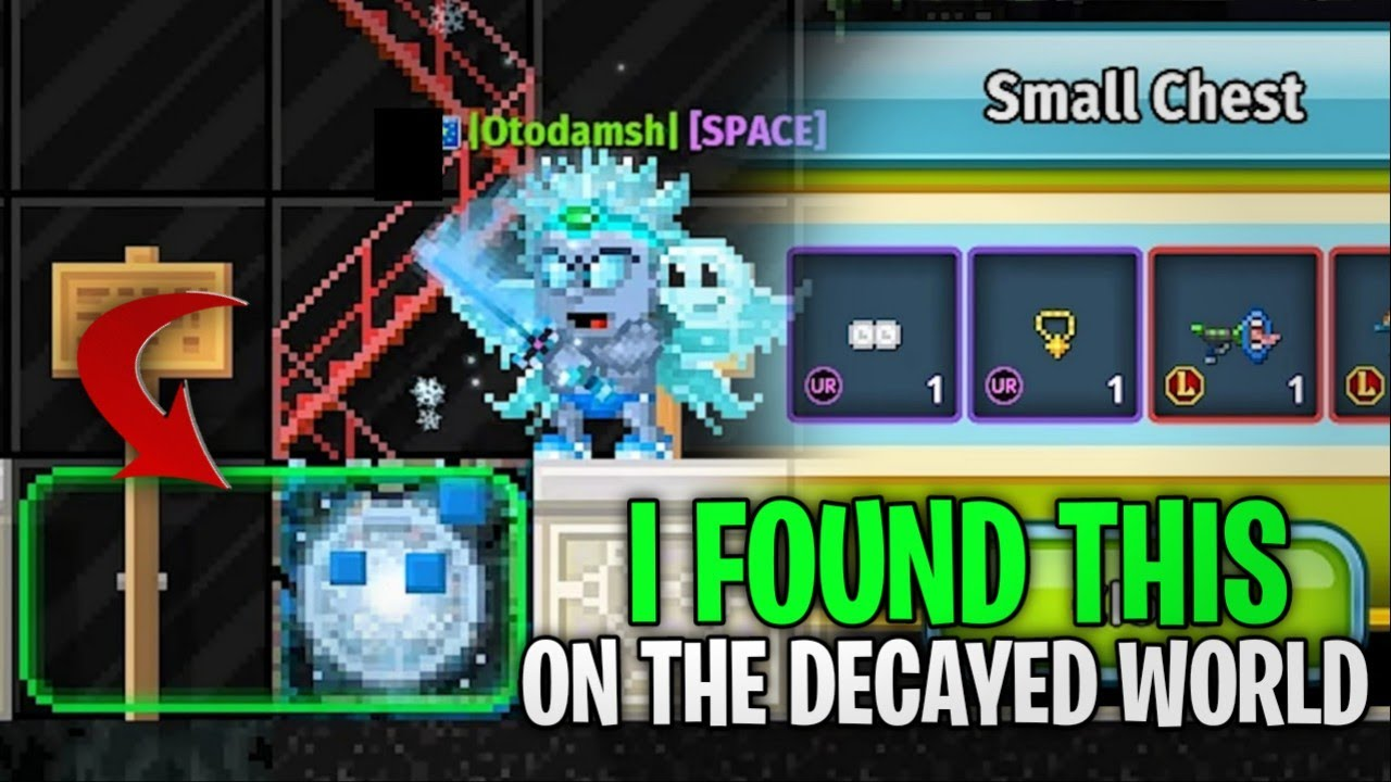 I FOUND THIS ON THE DECAYED WORLD!   PIXEL WORLDS   (DARES)