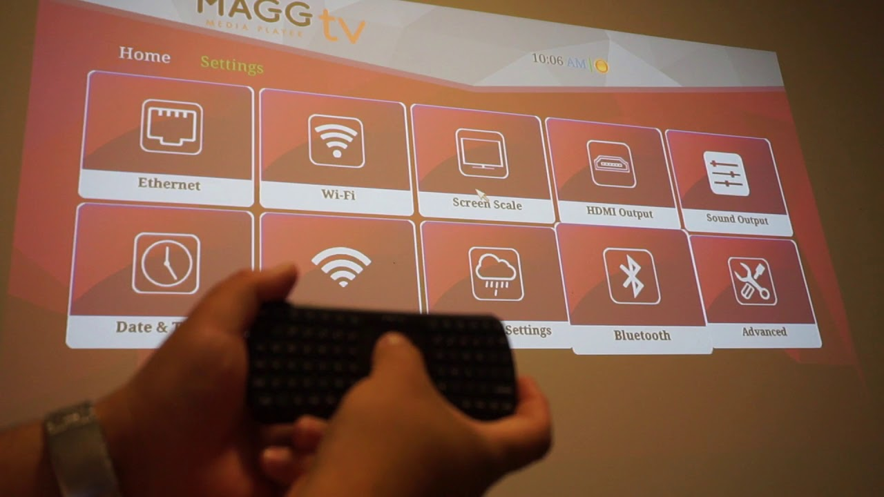 Pairing  Bluetooth Device To Your Magg Tv Media Player!