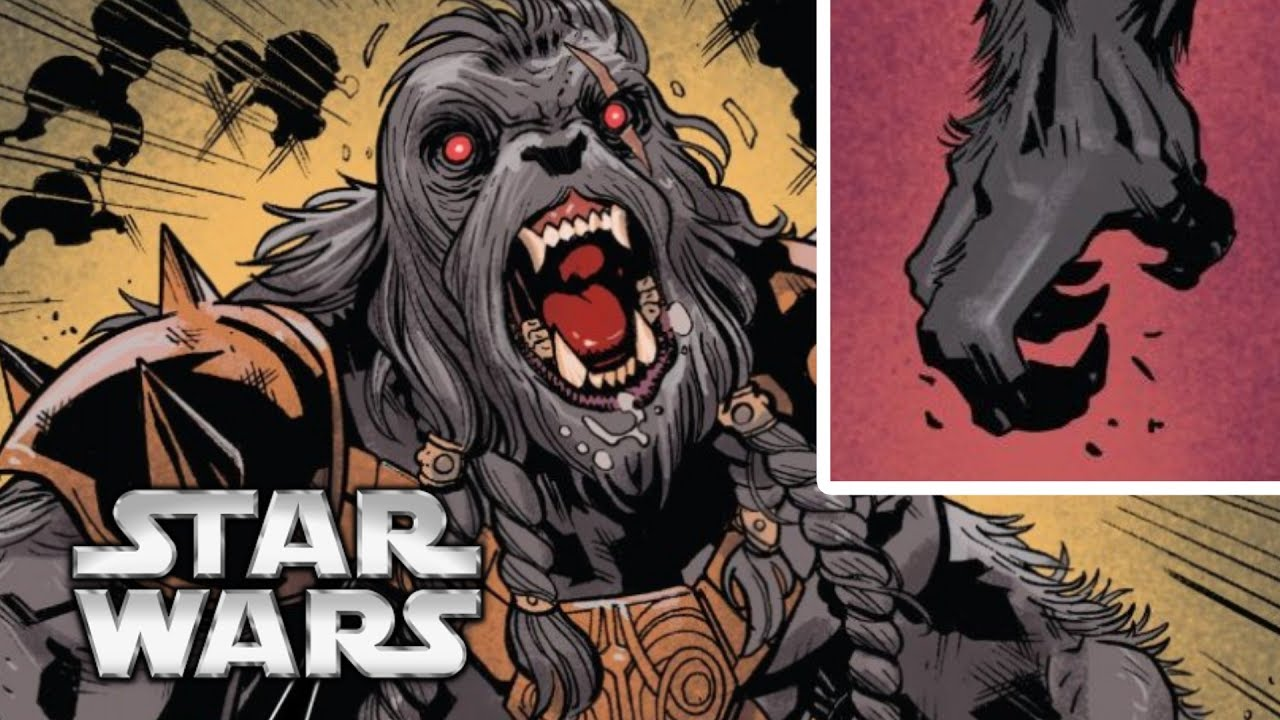 Every Wookiee Madclaw in Star Wars
