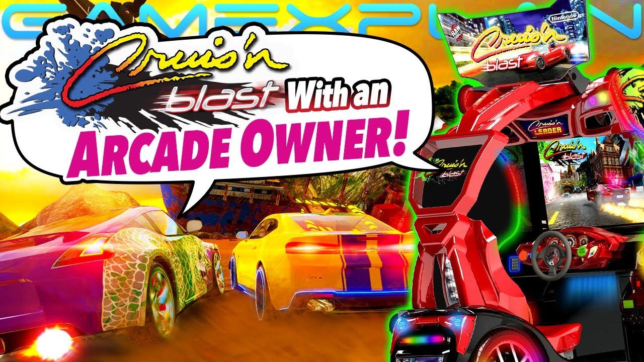 Talkin' Cruis'n Blast Thrills & Arcade Comparison with an Arcade Owner! - DISCUSSION