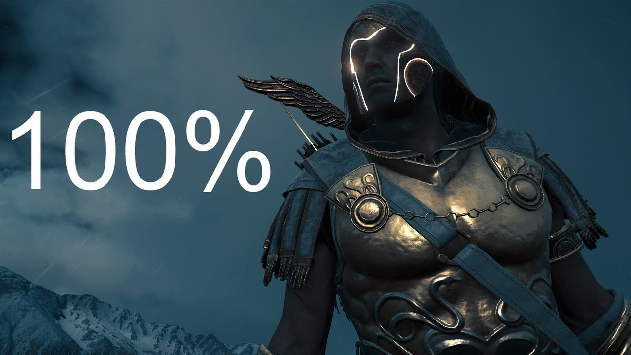 Assassin's Creed Odyssey 100% completion everything completed