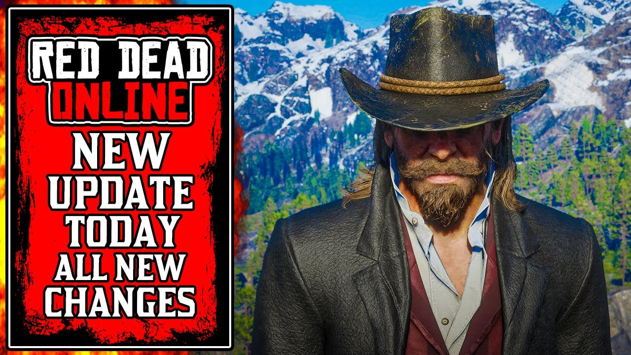 The NEW Red Dead Online UPDATE Today! All CHANGES (RDR2)