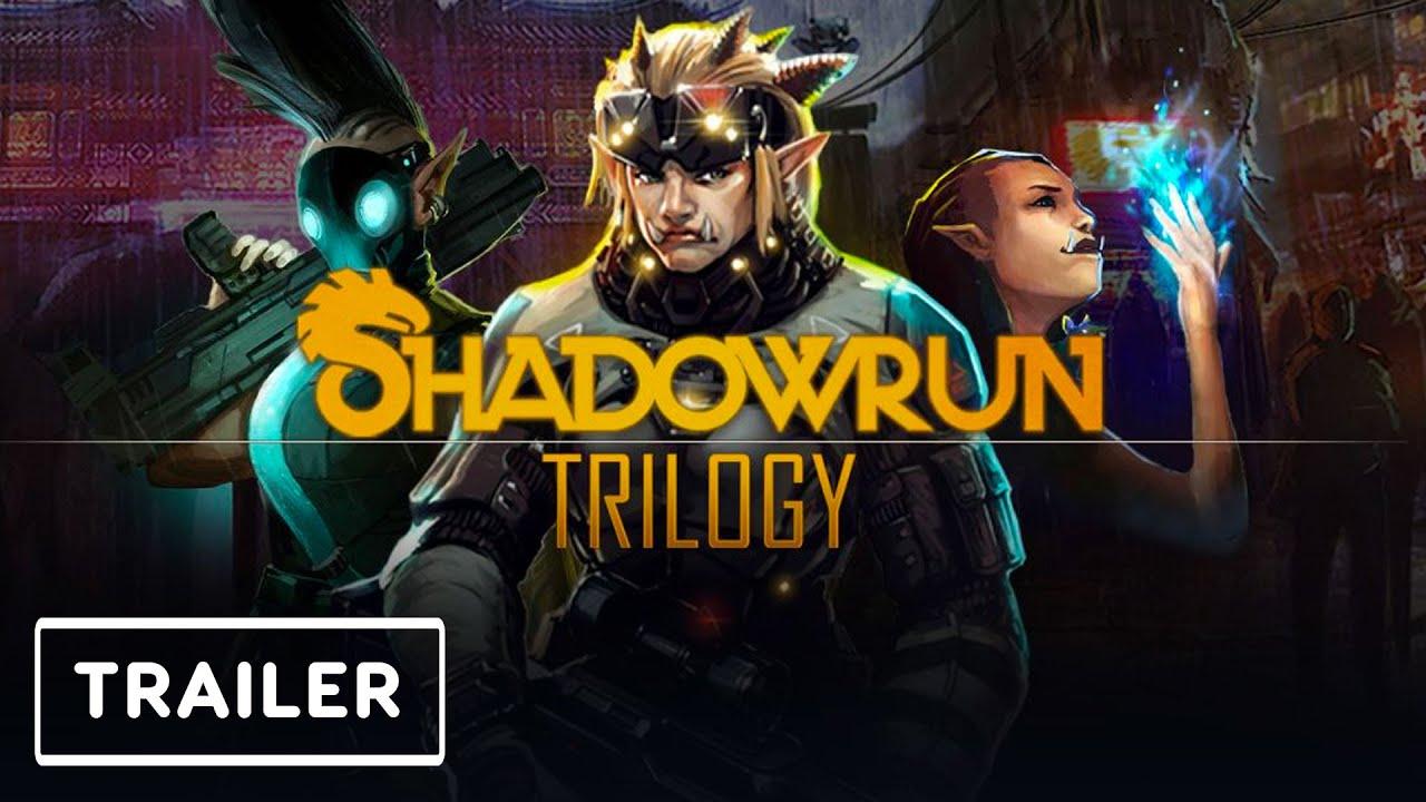 Shadowrun Trilogy Collection Trailer   Nintendo Direct