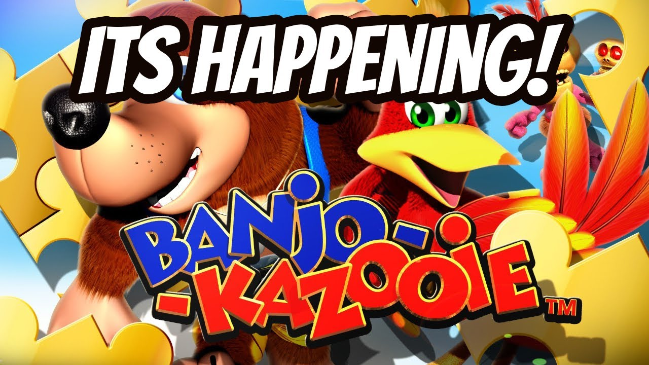 *ITS OFFICIAL* Banjo Kazooie Will Be Coming To The Nintendo Switch