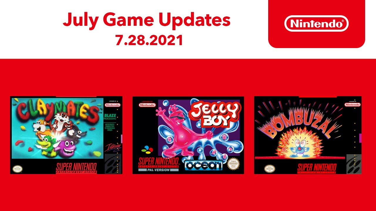Super NES - July 2021 Game Updates - Nintendo Switch Online