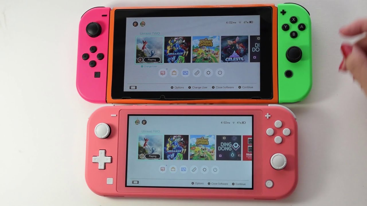 GameSharing on Nintendo Switch